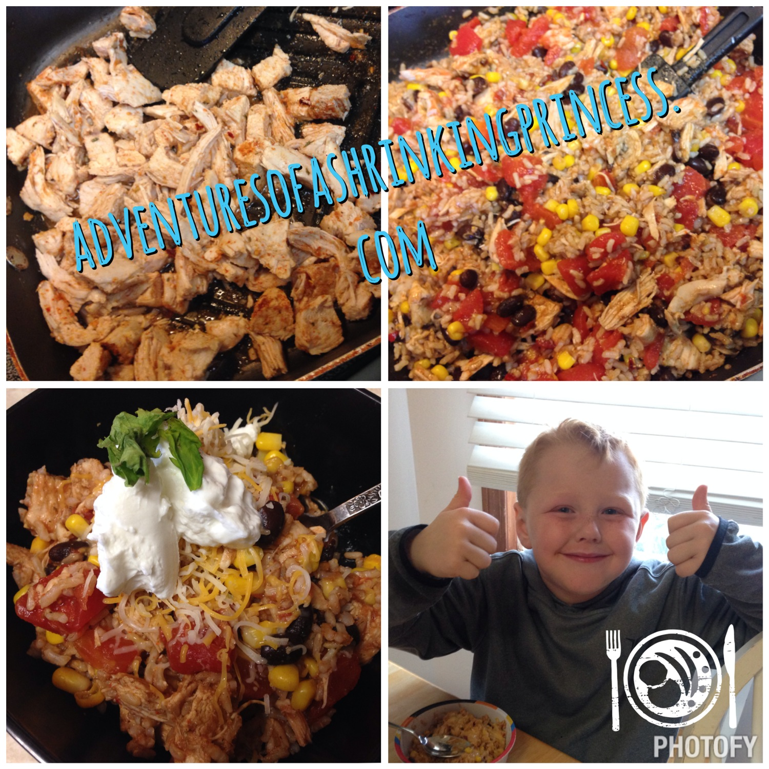 Cheesy Chipotle Chicken & Rice 21 Day Fix Approved - Adventures of a ...