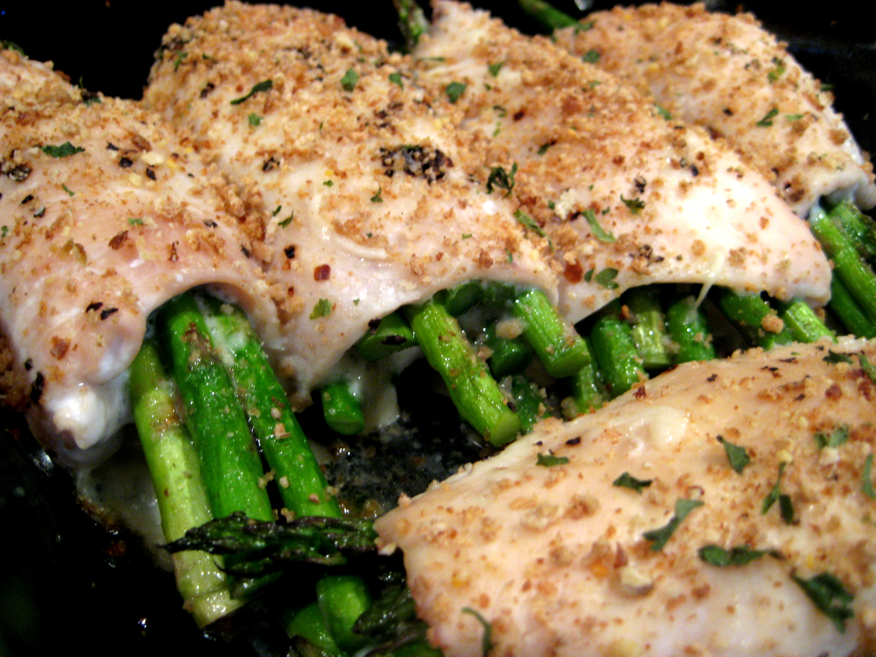 recipe: asparagus stuffed chicken breast tasty [25]